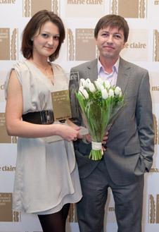 Марина Репина, директор по маркетингу и Александр Радаев генеральный директор профессионального подразделения L'Oreal Russia