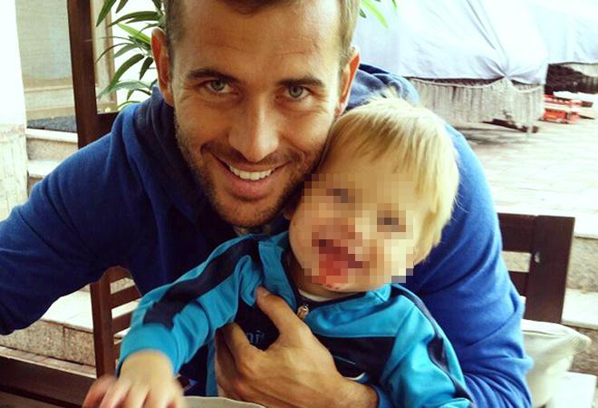 Александр Кержаков сын фото