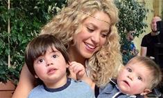 Милота дня: Шакира впервые выложила фото сыновей
