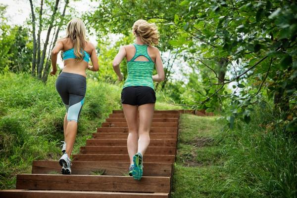 Ходьба по лестнице польза
