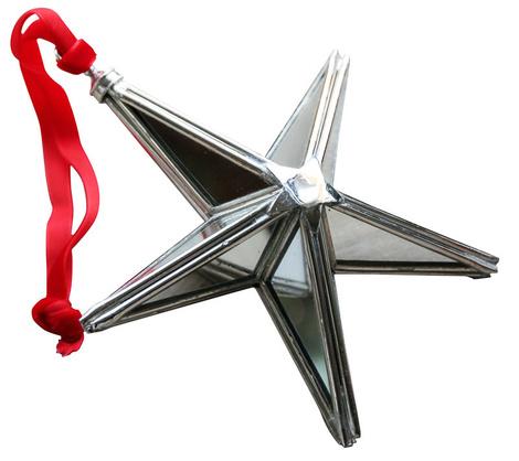 Елочное украшение с зеркальными гранями «Звезда», магазины Home Concept