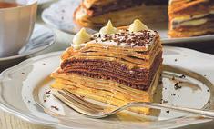 Торт блинчатый