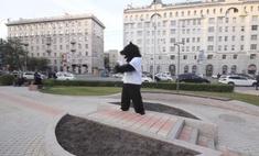 Видео дня: медведь гуляет по Новосибирску