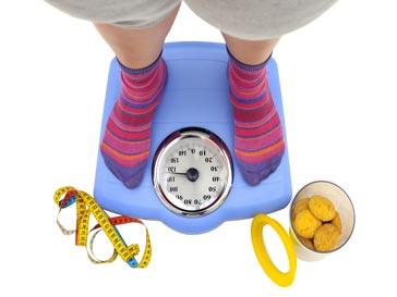 Толстушка на весах