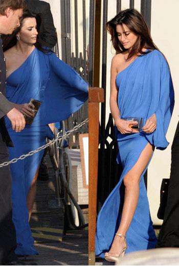 Пенелопа Крус в платье от Versace