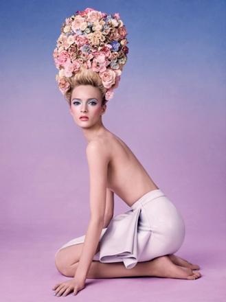 Рекламная кампания Dior Trianon Spring 2014 Collection