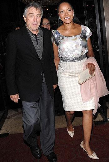 Роберт Де Ниро с супругой Грейс Хайтауэр