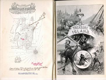 Следующим лотом должна была стать книга «Остров Сокровищ» Роберта Льюиса Стивенсона