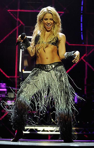 Недостатки звезд: Шакира