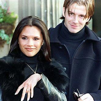 Официальная помолвка Дэвида и Виктории (1998)