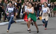 Самые яркие фото участниц «Забега на шпильках – 2015»