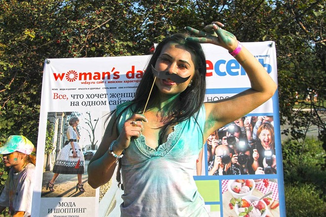 Фестиваль красок во второй раз за лето прошел в Иркутске