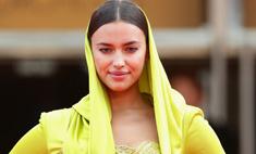 Ирина Шейк надела платье в восточном стиле