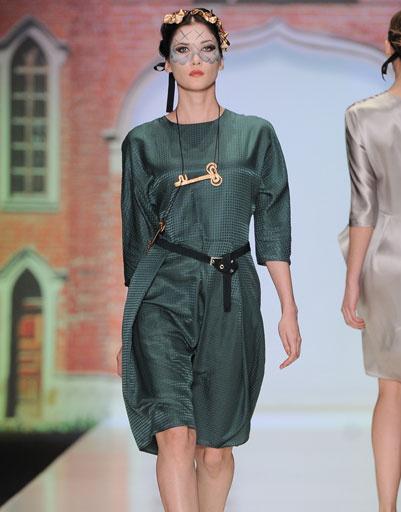 Показ коллекции Tatiana Sulimina осень-зима 2013/14 на Mercedes-Benz Fashion Week Russia