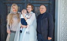 Мария Кожевникова крестила младшего сына