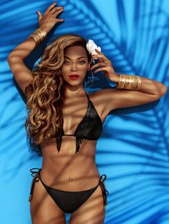 Бейонсе в рекламе купальников H&M