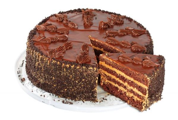 Как рисовать на торте шприцем