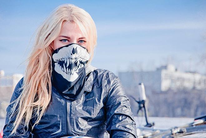 Мария Медельская, байкер, фото