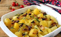 Вкусно запекаем картошку в духовке