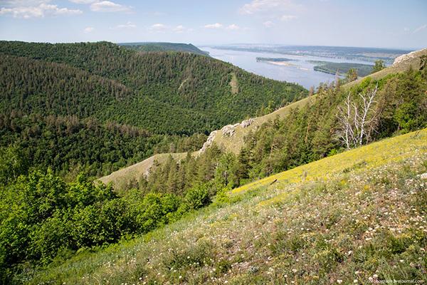 100 интересных мест Самарской области, гора Стрельная