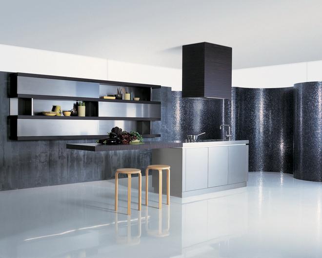 Расстановка мебели на кухне
