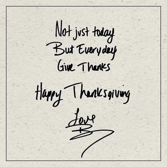 День благодарения в США 2014