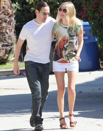 Кейт Босуорт (Kate Bosworth) с бойфрендом Майклом Полишем (Michael Polish)