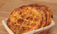 Вместо хлеба – домашние лепешки