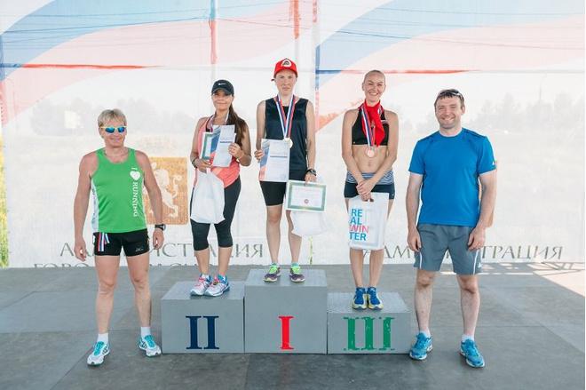 Ольга Суворова из Красноярска любит бег