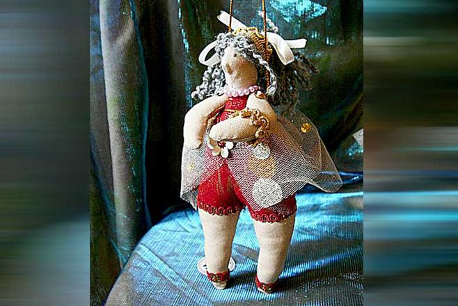 куклы ручной работы, фото