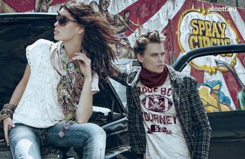 Кадр из рекламной кампании Alcott, осень-зима 2011/12