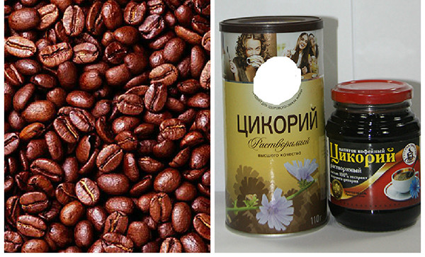 Кофе, цикорий