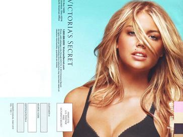 Кейт Аптон (Kate Upton) в новом каталоге нижнего белья Victoria's Secret