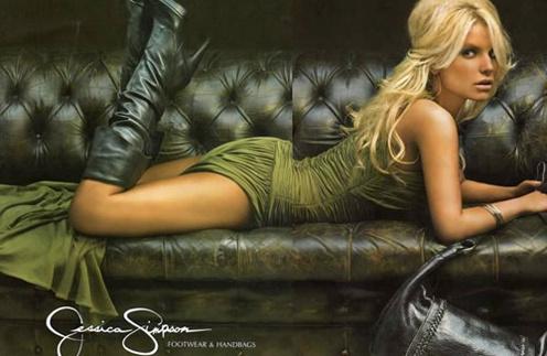 Джессика Симпсон (Jessica Simpson) в рекламной кампании бренда Jessica Simpson