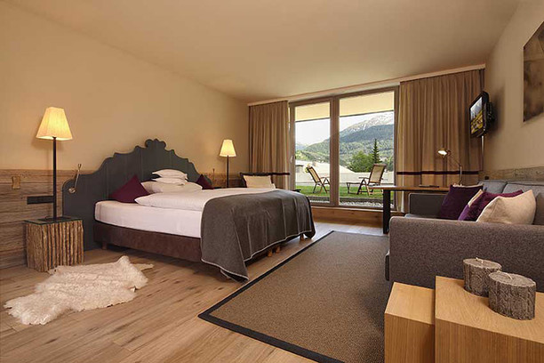 Номер с панорамным видом, отель Bergland