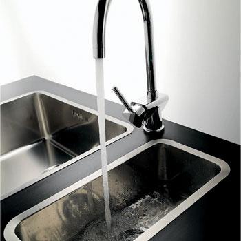 Модель Ohio (Reginox), от 6690 руб. Чаша, выполненная из высококачественной нержавеющей стали, отличается большой глубиной – 22 см