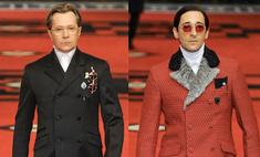Эдриан Броди и Гэри Олдмен стали моделями на показе Prada