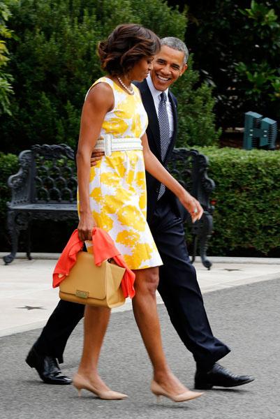 Мишель Обама, 2013 год