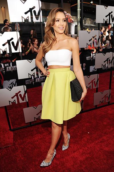 Джессика Альба на MTV Movie Awards 2014