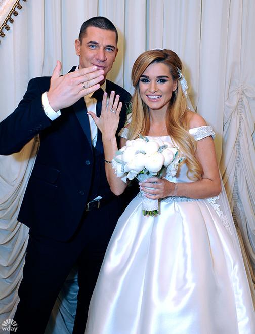 Ксения Бородина и Курбан Омаров проводят медовый месяц