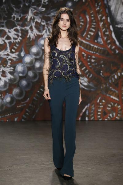 Самые роскошные вечерние платья Недели моды в Нью-Йорке | галерея [2] фото [14]