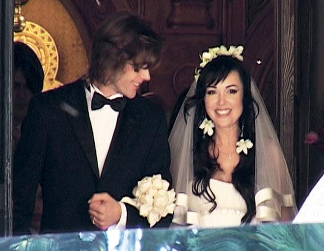 14 октября 2008 года Анастасия и Петр обвенчались.