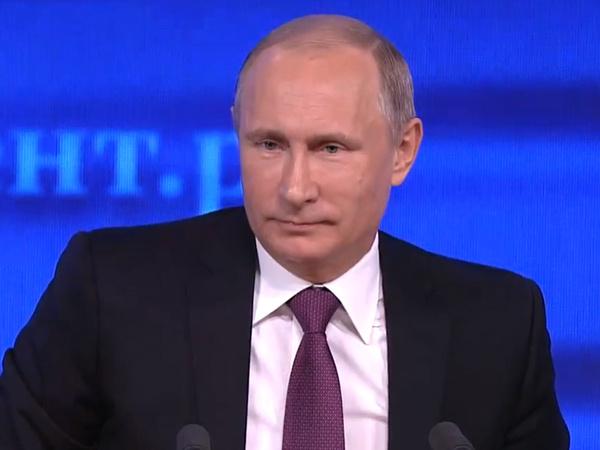 Владимир Путин, интервью-2014