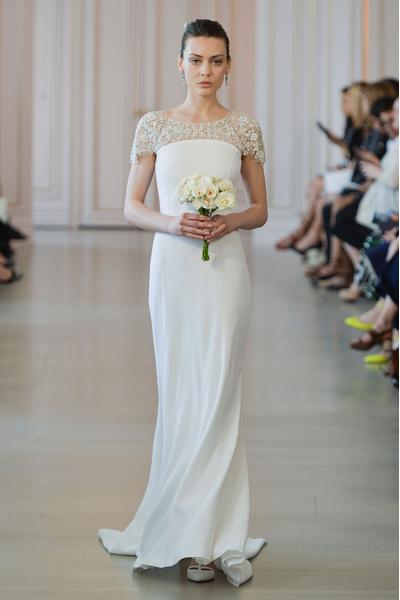 50 самых красивых платьев со Свадебной Недели Моды в Нью-Йорке | галерея [1] фото [41]