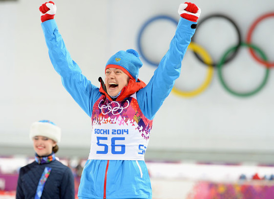 Ольга Вилухина, биатлон, Олимпиада в Сочи