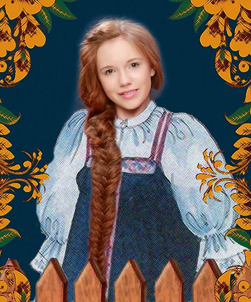 Мария Никитина, «Уральская краса – русская коса», фото
