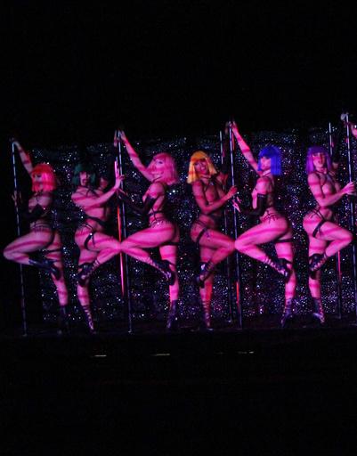 Девушки Crazy Horse участвовали в выставке Дэвида Линча и гастролировали с шоу Кайли Миноуг.
