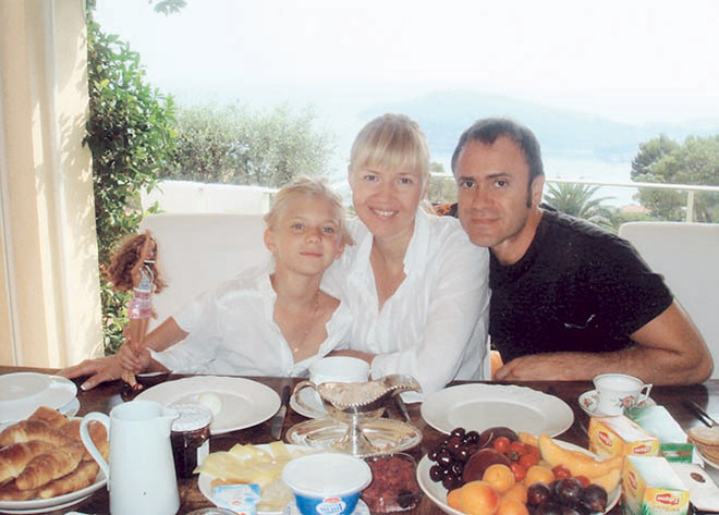 «Лучший способ расслабиться — ужин в кругу семьи».