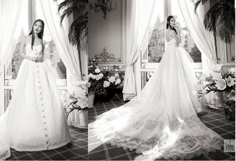 ЗАМУЖ НЕВТЕРПЕЖ: 10 самых красивых свадебных коллекций сезона | галерея [8] фото [2]