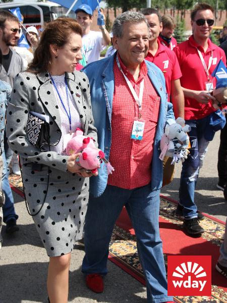 Благотворительная акция «Первого канала» «Стань первым» в Туле, Борис Грачевский